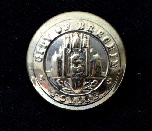 Brechin City Police Button
