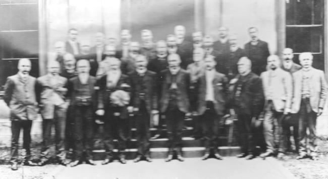 Chief Constables (Scotland) Club Elgin 18th august 1909